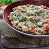 Cous-cous cu ciuperci pleurotus si spanac