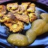 Dulciuri din Austria  Kaiserschmarrn (clatite pufoase cu sos de mere)