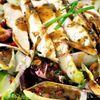 Salata cu pui, andive, rodie  dressing cu mustar si miere