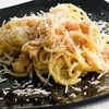 Spaghete cu smantana si costita afumata