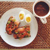 Sunday breakfast: smoothie cu lucuma, cacao si canepa  tartine cu somon