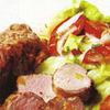 Muschiulet de porc cu salata verde