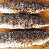 Biban de mare in crusta de tarate - reteta la gratar