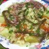 Mancare de legume si carne de vitel
