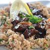 Reteta ras asfour - carne de vita libaneza in sos de rodii