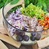 Salata de mei cu legume si ton