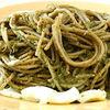 Spaghete cu spanac si legume de post