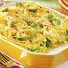 Spaghetti gratinate cu dovlecei