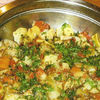 Ghiveci de legume oparite si prajite