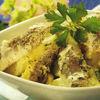 Salata cu peste si cartofi noi
