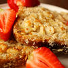 Sunday breakfast: French toast cu migdale si cocos