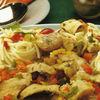 Cod cu spaghete si legume