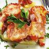 Cartofi si carne la cuptor