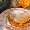 Pancakes cu dovleac copt si nuca