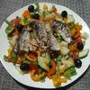 Salata de verdeturi si sardine