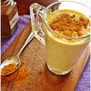 Shake cu turmeric, ghimbir si catina - bautura pentru imunitate