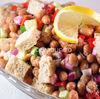 Salata de fasole boabe (uscata)