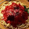 Spaghete condimentate cu ketchup