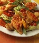 Salata cu sunca de pui si bacon
