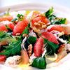 Salata de pui cu grepfrut roz