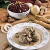 Sos de ceapa cu ciuperci