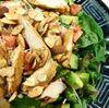 Salata de pui cu migdale
