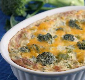 Conopida cu broccoli si crema de smantana