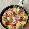 Reteta lui Jamie Oliver: Omleta cu carnati si cartofi