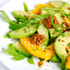 Salata cu piersici, caise si branza Feta