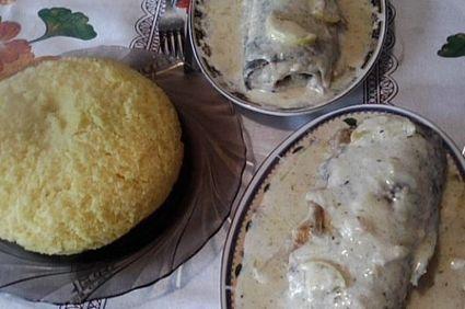 Pastrav cu sos la cuptor