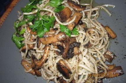 paste cu ciuperci