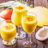 Smoothie cu mango si lapte de cocos