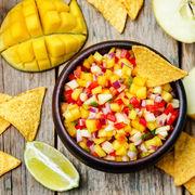 Salsa de mango. O combinaţie perfectă şi răcoritoare