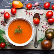 Gazpacho, supă rece spaniolă