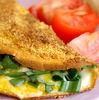Omleta in crusta de malai