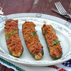 Zucchini umpluti cu legume si quinoa