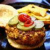Fast-food sanatos  Burger de curcan cu quinoa