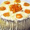 Tort rapid din panettone cu mascarpone si portocala