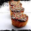 Muffins cu visine si stafide