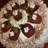 Tort Tiramisu cu capsuni