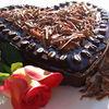 Tort inimos de cafea si ciocolata
