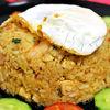 Nasi Goreng Ayam  orez prajit cu pui si creveti