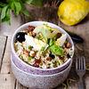 Natural Cuisine - Salata de bulgur, menta, fenicul si alune - Tabbouleh