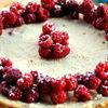 Cheesecake cu zmeura si scortisoara