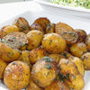 Cartofi noi cu marar, usturoi si rozmarin