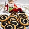 Biscuiti spirala si tabla de sah