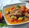 Rata cu struguri in curry rosu thailandez - reteta video