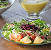 Salata de ton cu muguri de ridiche - reteta