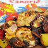 Pui spaniol cu carnati chorizo si cartofi