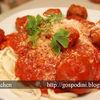 Spaghetti cu sos si chiftelute